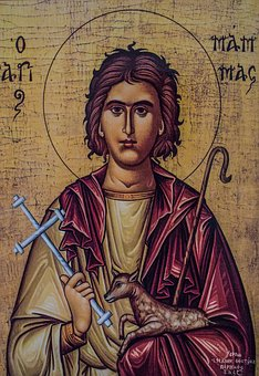 Saint Mamas, Icon, Painting, Church, Orthodox, Religion