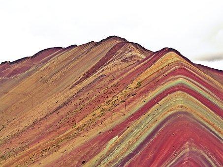 Peru, Cusco, Rainbow Mountains, South America