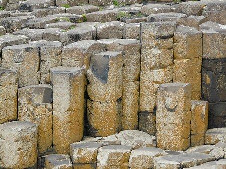 Ireland, Giant's Causeway, Rock, Tourism, Causeway