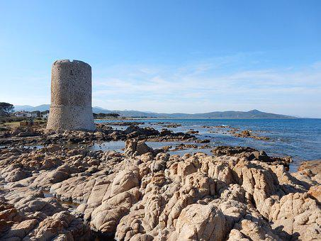 Sardinia, Sea, Costa, Nature, Landscape, Rocks, Italy