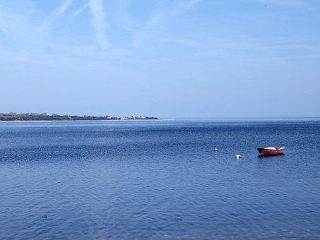 Sea, Lake, Danish Baltic, Quiet Lake, Stony Underground