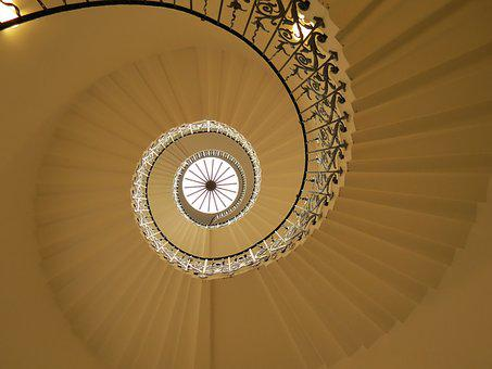 Spiral, Staircase, Spiral Staircase, Architecture