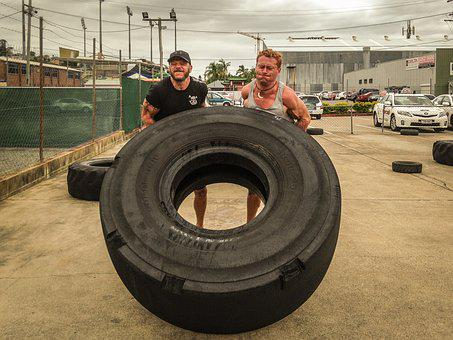Tire Flipping, Tyre Flipping, Training, Strong, Fitness