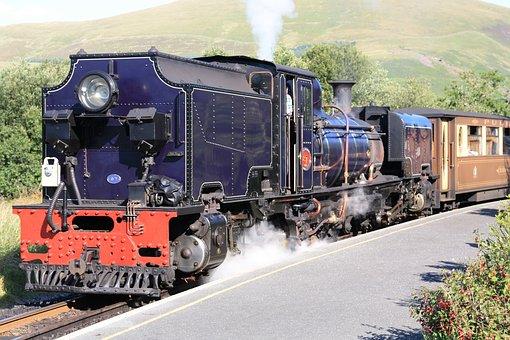 Steam Locomotive, Malettantrieb, Water Vapor, Train