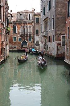 Gondola, Venice, Architecture, Italy, Travel, Europe