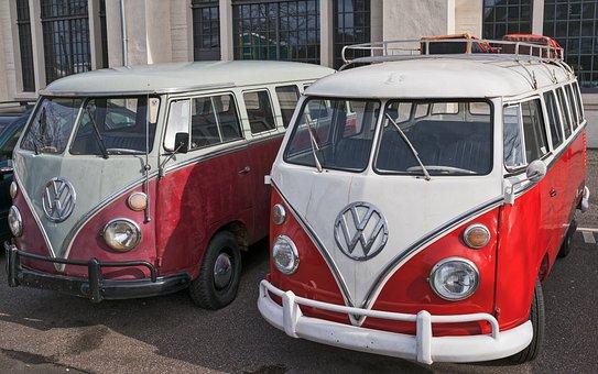 Vw, Vw Bus, Bus, Volkswagen, Bulli, Auto, Vehicle