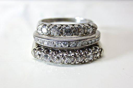 Diamond, Platinum, White, Gold, Wedding, Engagement