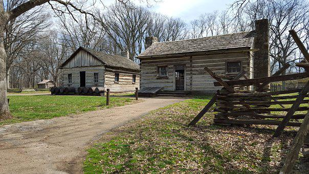 New Salem, Illinois, Lincoln, Abraham Lincoln, Cabin
