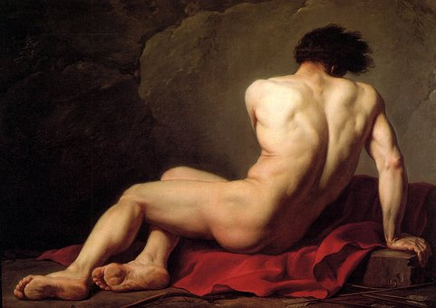 Academy, Patroclus, Jacques-louis David
