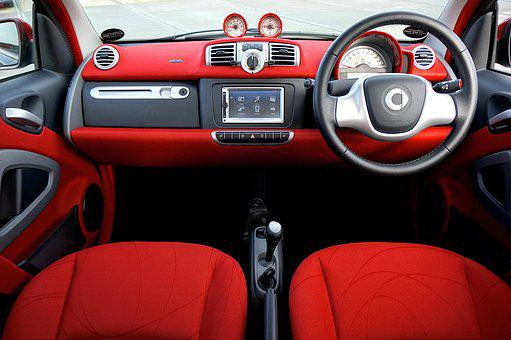 Car, Interior, Vehicle, Auto, Automobile, Transport