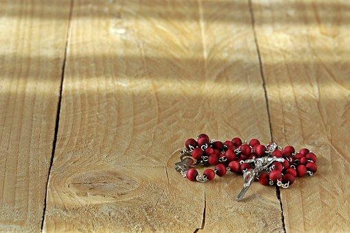 The Rosary, Cross, Prayer, Beads, Pray, Christianity