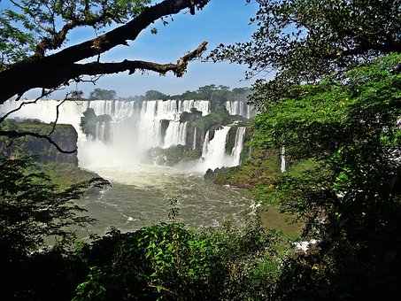Cataratas Do Iguaçu, Brazil, Waterfall, River