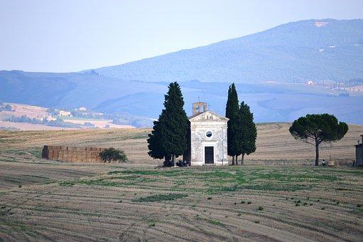 The Val D'orcia Tuscany, Tuscany, Church, Chapel