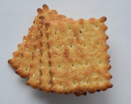 Cookies, Cracker, Breakfast, Sesame, Eat, Food, Taste