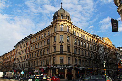 Stockholm, City, Mall, Shopping, Sweden, Europe