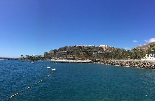 Anfi Del Mar, Gran Canaria, Beach, Canary Islands