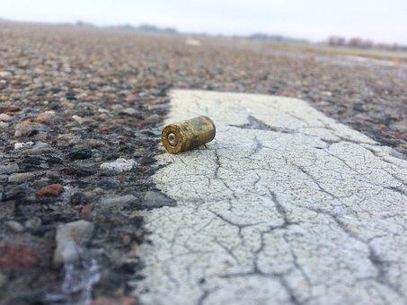 Casing, Gun, Bullet, Weapon, Shoot, Shooting