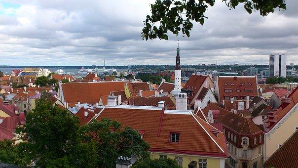 Tallinn, City, Harbour, Estonia, Historical
