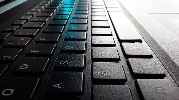 Keyboard, Black Wallpaper, Key Strokes