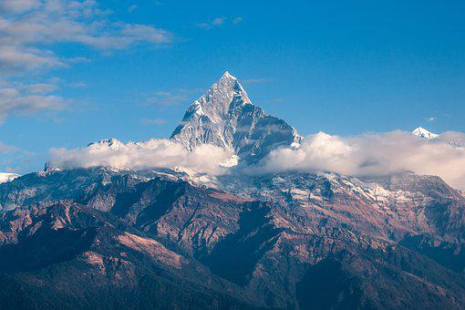 Mountain, Himalaya, Nepal, Trekking, Trek, Fishtail