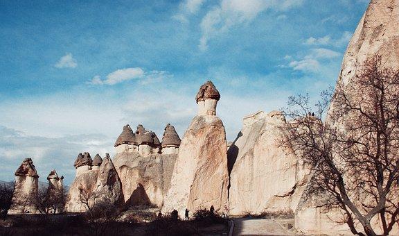 Nevşehir, Cappadocia, Bell, Fairy Chimneys