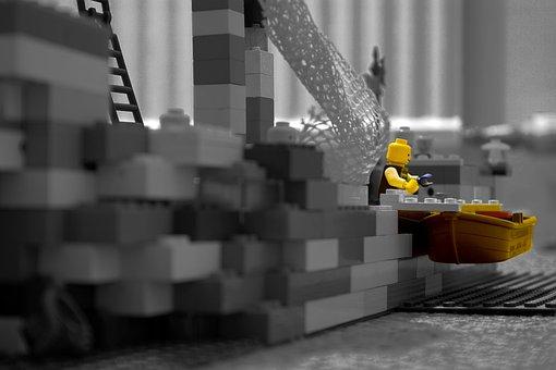 Lego, Pirate, B W