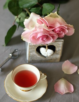 Relaxation, Tea, Rose, Holiday, The Drink, Teacup, Rest