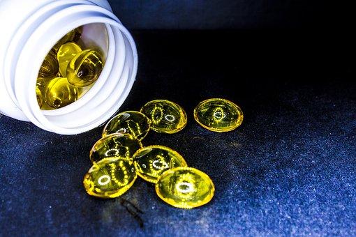 Cure, Drug, Tablets, Cod-liver Oil, Omega-3, Omega-6