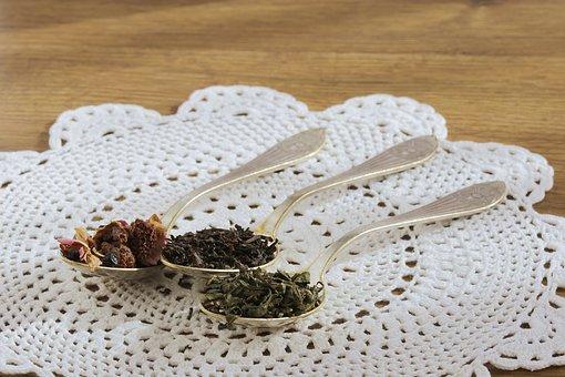 Tea, Black Tea, Sheet, Dried Fruit, Green Tea, Teaspoon
