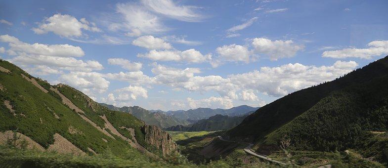 Cloud, Mountain, The Scenery, Zhangjiakou