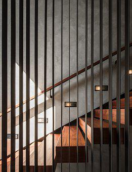 Stairs, Indoor, Through The Gallery