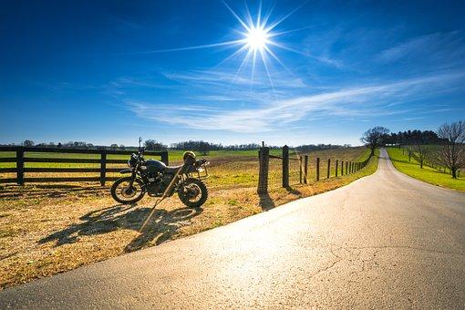 Motorcycle, Triumph, Scrambler, Adv, Adventure