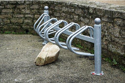 Parking For Bikes, Bikes, City, Urban, Bike, Transport