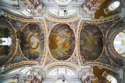 Church, Baroque, Architecture, Building, Blanket