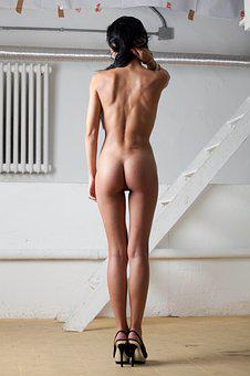 Nude, Back, Ass, Sit, Beauty, Artistic, Laying