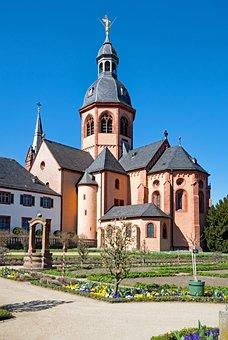 Seligenstadt, Hesse, Germany, Basilica