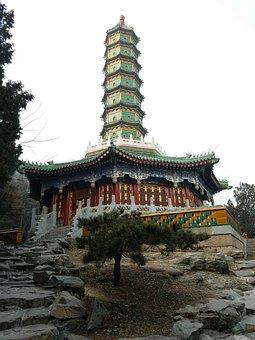 Beijing, Winter, Xiangshan