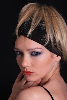 Blonde, Models, Portrait, First Floor, Face, Trick