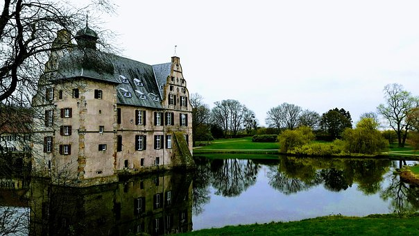 Castle, Bodelschwingh, Nordrhein-westfalen