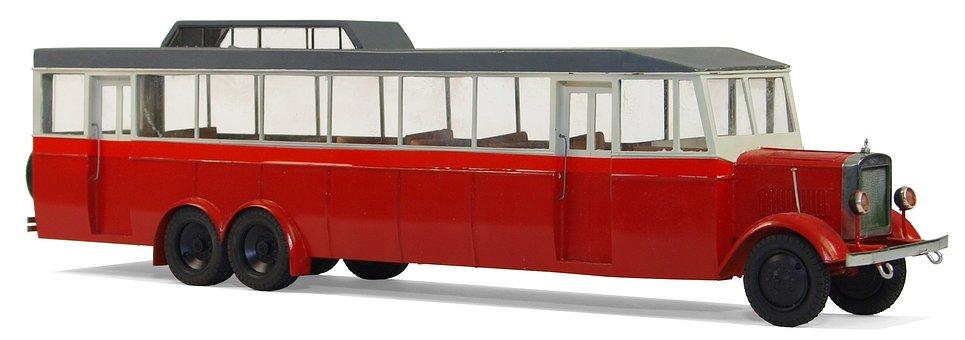Buses, Yamz, Ya A2, 1932, Model, Collect, Leisure