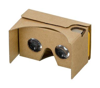 Google, Cardboard, 3d, Vr, Virtual Reality