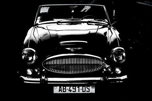 Austin Healey, Car, Old Car, Classic Car