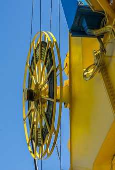 Crane, Ropes, Industry, Construction, Industrial