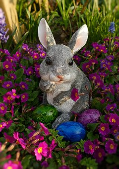 Easter Bunny, Figure, Easter, Hare, Easter Decoration