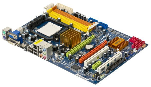 Motherboard, Electronics, Chips, Pc, A790gxh