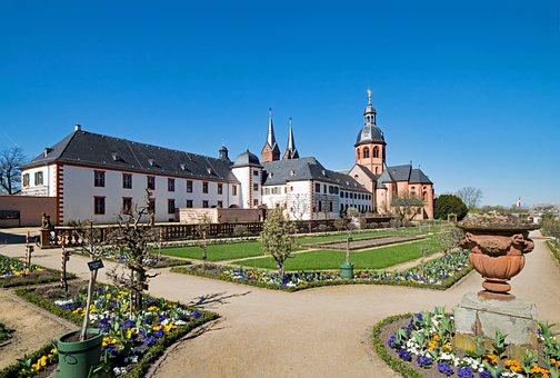Seligenstadt, Hesse, Germany, Monastery