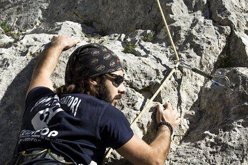 Rock, Climbing, Climber, Hiking, Mountain, Rocks, Italy