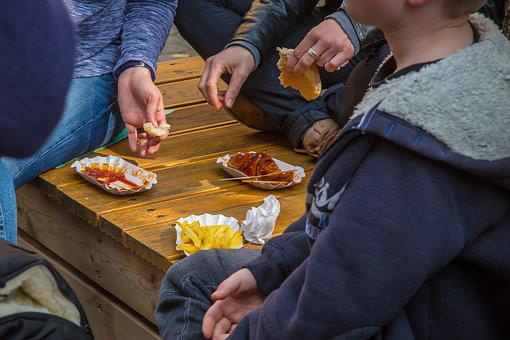 French, Currywurst, Fast Food, Frits, Junk Food