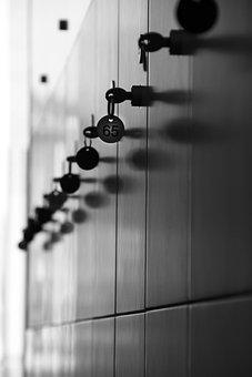 Lockers, Keys, Order, Black And White, Black White, B W