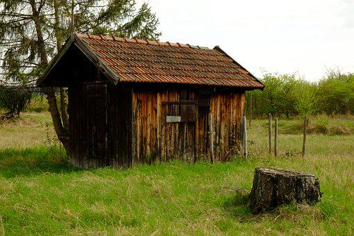 Hut, Log Cabin, Wood, Nature, Vacation, Landscape